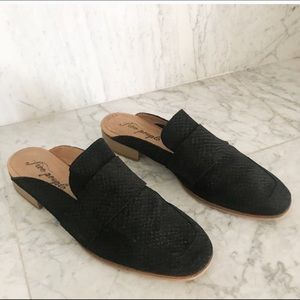 Free People at Ease Loafer Mule Size 39